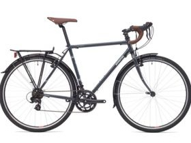Adventure Flat White Steel Touring Bike
