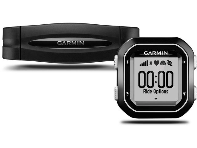 Garmin Edge 25 GPS-Enabled Cycle Computer With Heart Rate Bundle click to zoom image