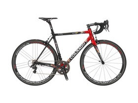 Colnago C60 Disc Frameset - Dual Use - Classic Black / Metallic Red