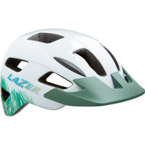 Lazer Gekko Helmet, White/Tropical, Uni-Youth