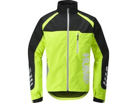 Hump Strobe Waterproof Jacket Safety Yellow - Mens