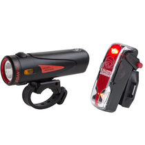 Light and Motion Urban 1000 Black/Black + Vis 180 Pro light twinpack