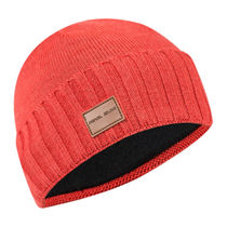Pearl Izumi Unisex Knit Beanie Hat, Torch Red, One Size