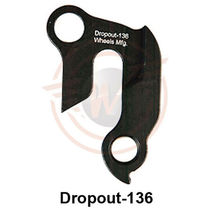 Wheels Manufacturing Replaceable derailleur hanger / dropout 136
