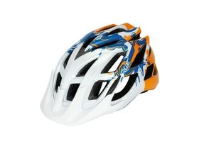 Scott Spunto Junior Mountain Bike Helmet-White/Blue