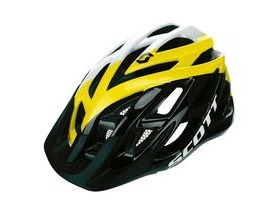Scott Spunto Junior Mountain Bike Helmet-White/Yellow