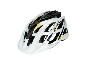 Scott Spunto Junior Mountain Bike Helmet-White/Yellow RC