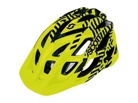 Scott Spunto Junior Mountain Bike Helmet-Yellow Fluorescent