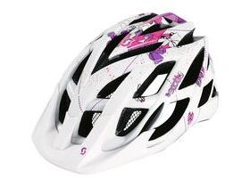 Scott Spunto Junior Mountain Bike Helmet-Contessa White/Pink