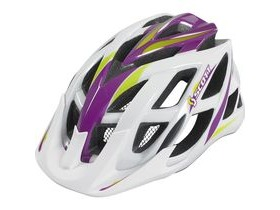 Scott Spunto Junior Mountain Bike Helmet-Contessa White/Purple RC