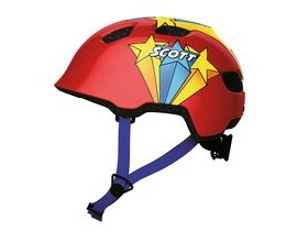 Scott Chomp Toddler Cycle Helmet - Red