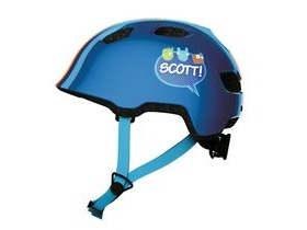 Scott Chomp Toddler Cycle Helmet - Blue Stripe