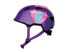 Scott Chomp Toddler Cycle Helmet - Contessa Purple