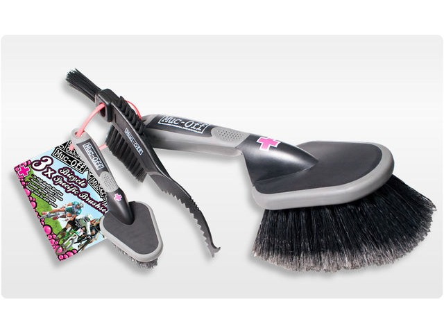 Muc-Off Custom Bike Brush Set (3 Brushes) click to zoom image